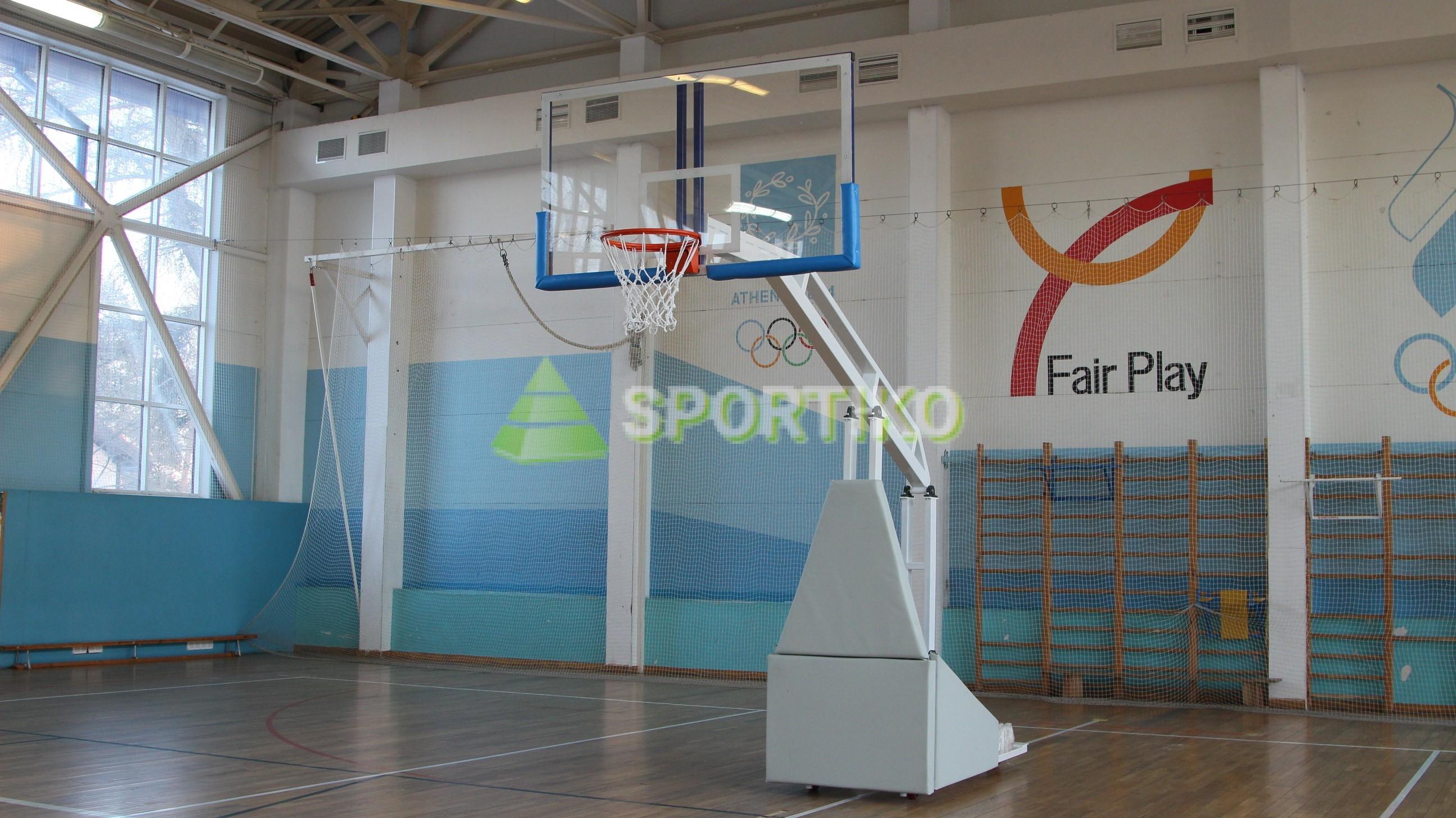d89c86f3 Стойка баскетбольная мобильная складная с гидравлическим механизмом ...