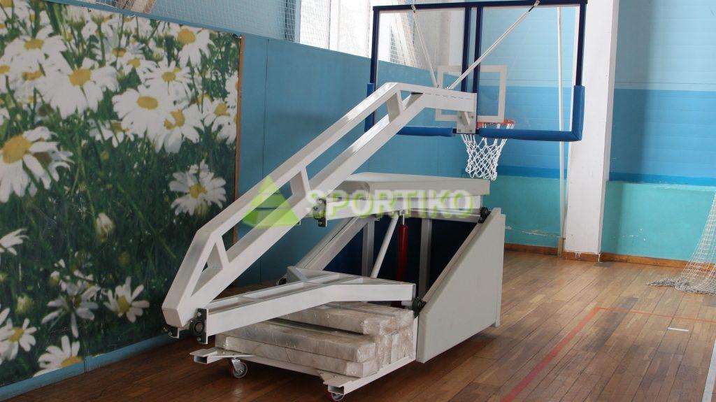 стойка баскетбольная мобильная