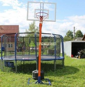 Стойка баскетбольная регулируемая.