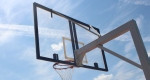 Стойка баскетбольная стационарная.