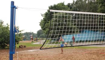 Волейбольные стойки.