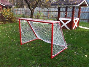 Тренировочные ворота для хоккея.
