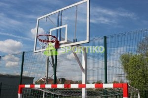 Стойка баскетбольная стационарная 1.2 м.